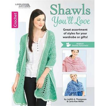 Shawls You'll Love - Crochet (Leisure Arts #6668)