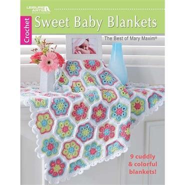 Sweet Baby Blankets - Crochet (Leisure Arts #6789)