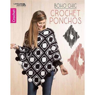 Boho Chic Crochet Ponchos (Leisure Arts #6792)