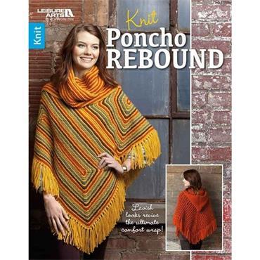 Knit Poncho Rebound (Leisure Arts #6793)