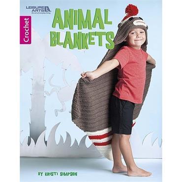 Animal Blankets Crochet Book (Leisure Arts #6996)