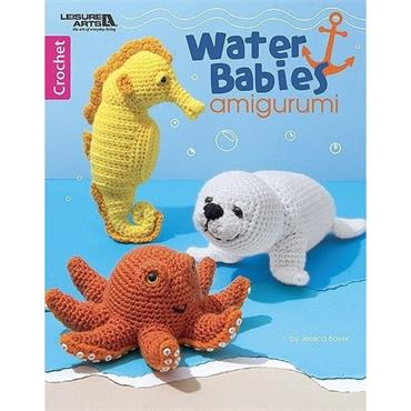 Water Babies - Amigurumi (Leisure Arts #7048) Crochet Book