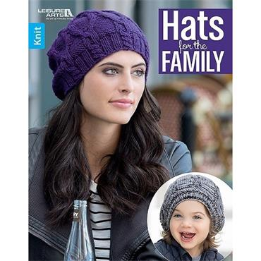 Hats for the Family (Leisure Arts #7121) Knit