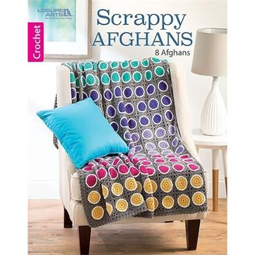 Scrappy Afghans (Leisure Arts #7135) Crochet Book