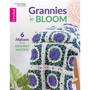 Grannies in Bloom (Leisure Arts #7138) Crochet Book