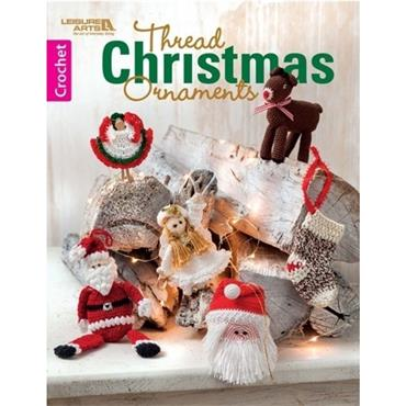 Thread Christmas Ornaments in Crochet (Leisure Arts #7194)