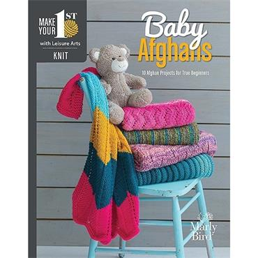 Make Your First Knit Baby Afghans - Leisure Arts