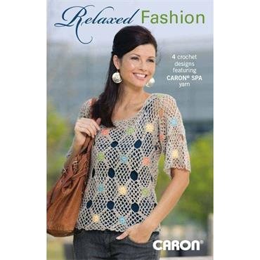 Relaxed Fashion Crochet Book (Leisure Arts #75275)                 inv