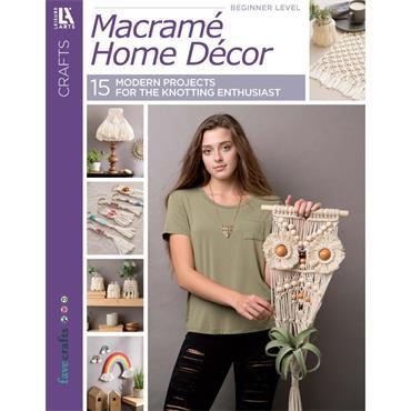 Leisure Arts Macrame Home Decor Book (Leisure Arts #7538)