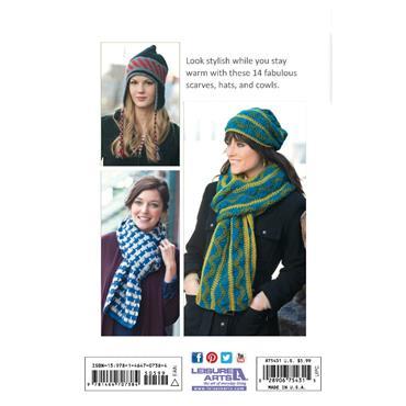 Leisure Arts Hats & Scarves Crochet Book (Leisure Arts #75431)
