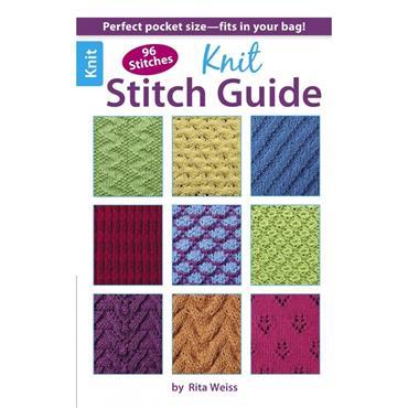 Knit Stitch Guide (Leisure Arts #75435)
