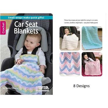 Car Seat Blankets - Crochet (Leisure Arts #75469)