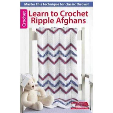 Learn to Crochet Ripple Afghans (Leisure Arts #75474)