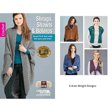 Shrugs, Shawls & Boleros (Aran) - Crochet (Leisure Arts #75544)