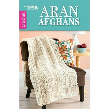 Aran Afghans - Crochet (Leisure Arts #75580)