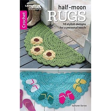 Half-Moon Rugs Crochet (Leisure Arts #75664)