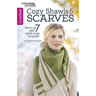 Shawls & Scarves Crochet (Leisure Arts #75665)