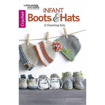 Infant Boots & Hats (Leisure Arts 75667)