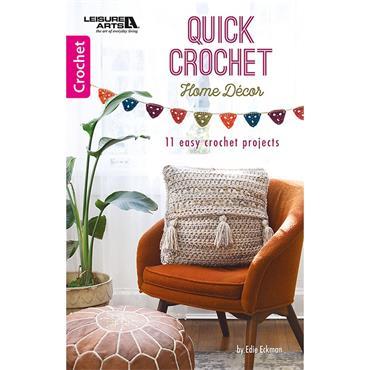 Leisure Arts Quick Crochet Home Decor Book (Leisure Arts #75671)