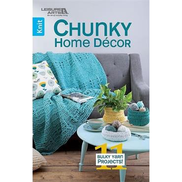 Chunky Home Decor (Leisure Arts #75674) Knit