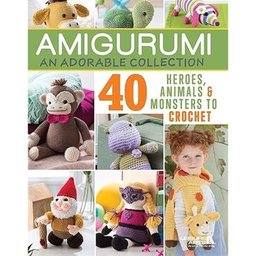 Amigurumi: An Adorable Collection (Leisure Arts Book #7573)