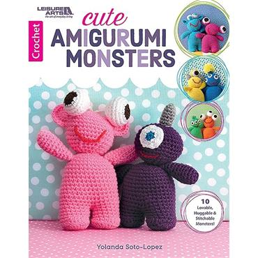Leisure Arts Cute Amigurumi Monsters (#7098)