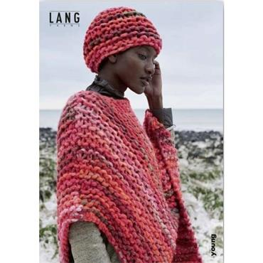 Lang Booklet #456.0134 Poncho & Hat in Young