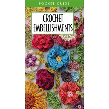 Crochet Embellishments (Leisure Arts #56035) Pocket Guide