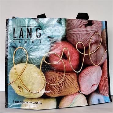 "Lang Knitting Bag For Life   ""LOVE"""