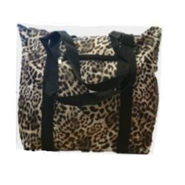 Knitting Bag - Leopard