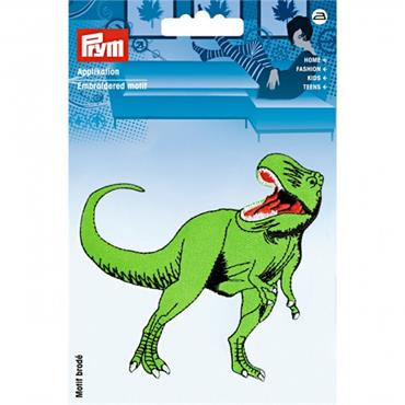 Prym Embroidered Motif - Dinosaur (Large)