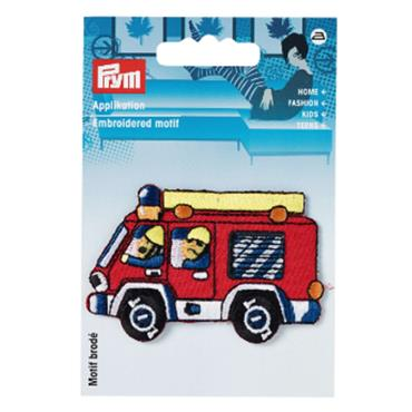 Prym Embroidered Motif - Firemen