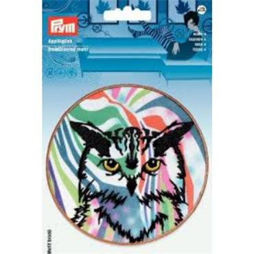 Prym Embroidered Motif - Owl (Large)
