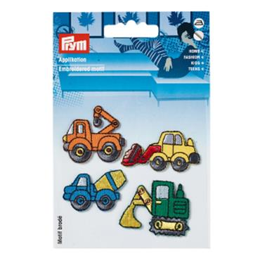 Prym Embroidered Motif - Trucks