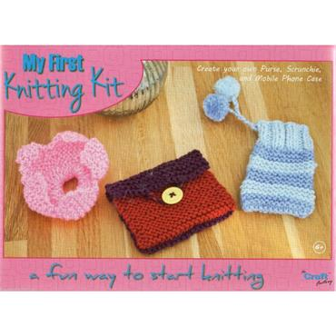 My First Knitting Kit  CF127  ***