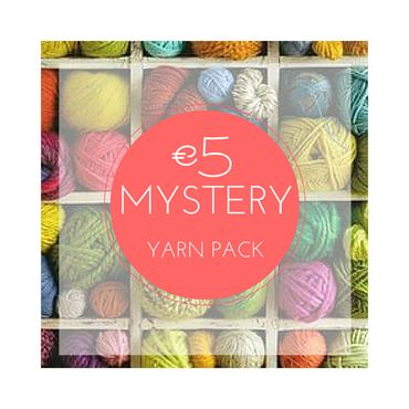 NEW SELECTIONS - €5 MYSTERY Yarn Pack