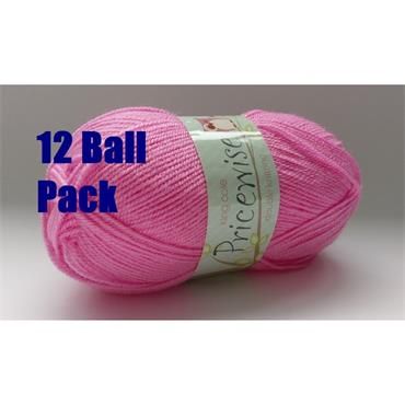 King Cole Pricewise Double Knitting FULL PACK of 12 x 100g Balls
