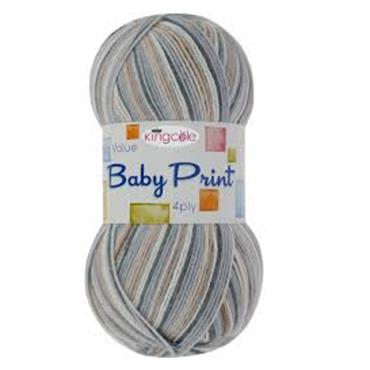 King Cole Big Value Baby 4ply Prints