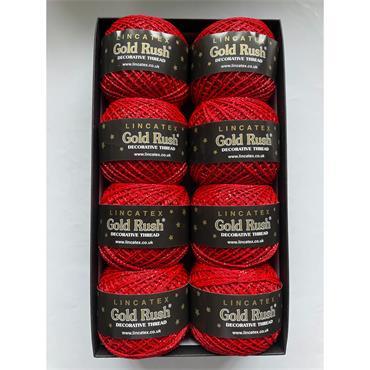 Lincatex Gold Rush Goldfingering Lurex yarn  20g