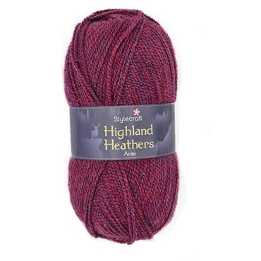 Stylecraft Highland Heathers Aran