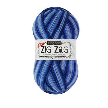 King Cole Zig Zag 4ply Sock Yarn