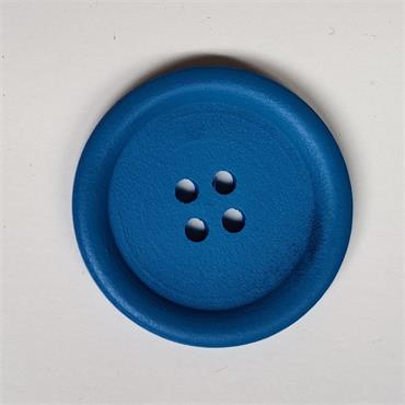 Large Wooden Craft Button Collection - 40mm