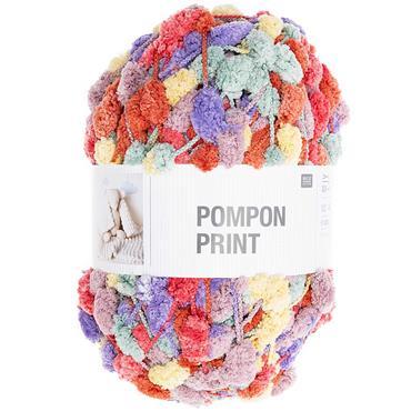Rico Pompon Print (Plain & Print) pom pom pompom