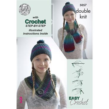 Pattern #5057 Riot Double Knitting Crochet Learner Pack