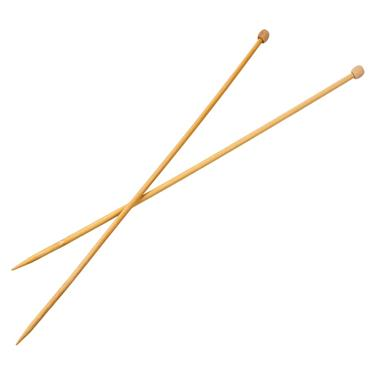 Bamboo Knitting Needles 33cm long (2.75mm to 12mm)