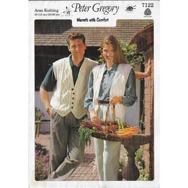 Peter Gregory Pattern #7122 His & Hers Waistcoats