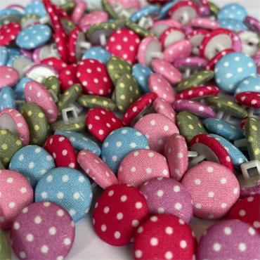 Polka Dot Button (14mm)