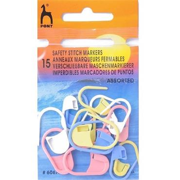 Stitch Markers x 15 (Safety)