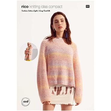 Rico Pattern #1018 Cardigan & Sweater in Light & Long DK