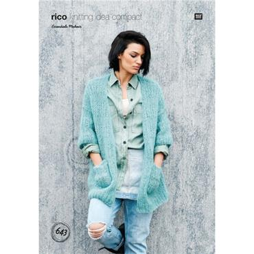 Rico Pattern #643 Cardigan in Mohair